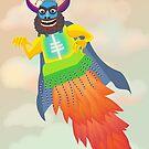 Super Monster by rainbowflowers