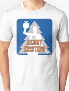 Merry Kristaps - Blue Unisex T-Shirt