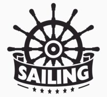Ship Steering Wheel Logo Design by Style-O-Mat