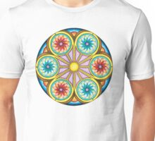 Portal Mandala T-Shirt - Full Color Unisex T-Shirt