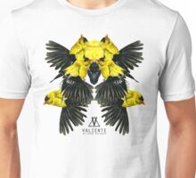Birds in white Unisex T-Shirt