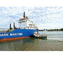 MAVIS the tugboat Photographic Print