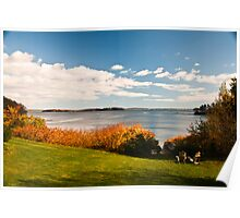 Adirondacks by the Cove Poster