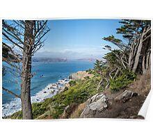 Land's End, San Francisco Poster