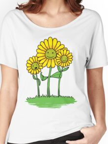 Flower Buds Women's Relaxed Fit T-Shirt