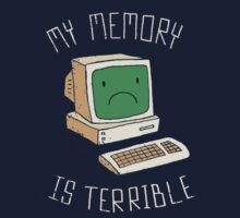 My Memory Is Terrible One Piece - Long Sleeve
