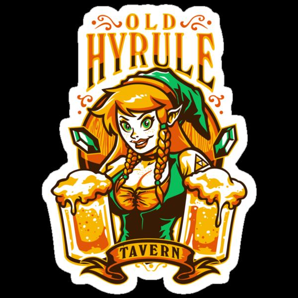 Old Hyrule Tavern by WinterArtwork