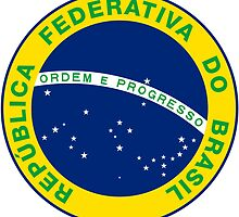 National Seal of Brazil  by abbeyz71
