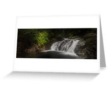 Unknown Falls Above Denny Greeting Card