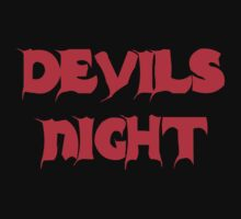 Devil's Night by Mechan1cal5hdws