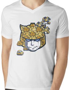 Bumble Tessellation Mens V-Neck T-Shirt