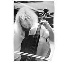 Cellist and the Hair Poster