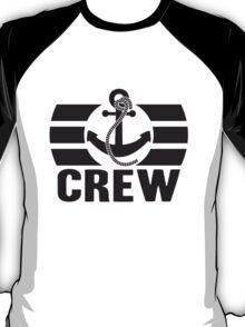 Crew Logo Design T-Shirt