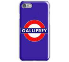 GALLIFREY METRO iPhone Case/Skin