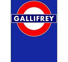 GALLIFREY METRO Photographic Print