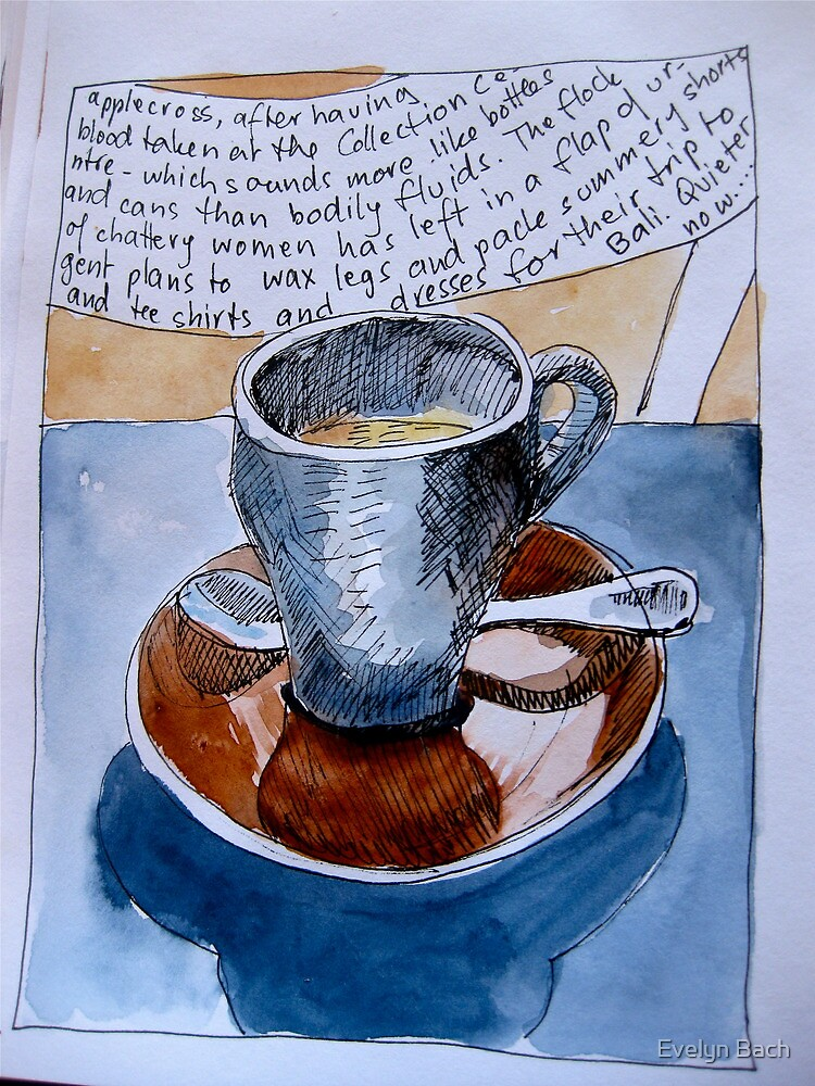 cuppa by Evelyn Bach