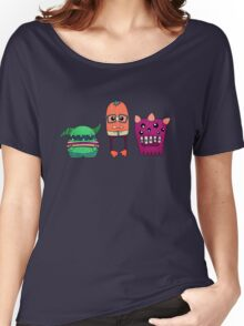 Dorky Monsters Women's Relaxed Fit T-Shirt