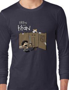 Attack on Calvin Long Sleeve T-Shirt
