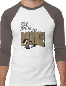Attack on Calvin Men's Baseball ¾ T-Shirt