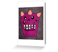 My Name is Poindexter Greeting Card