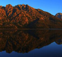 Jenny Lake, Yellowstone at Sunrise by RichPhotography