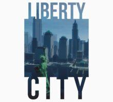 Liberty City Skyline #1 by slitheenplanet