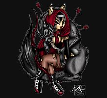 Little Red and her Wolf is Dead Womens Fitted T-Shirt
