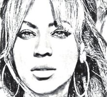 Beyonce - The eyes Sticker