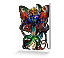 Of Unknown Origin - Create A Monster  Greeting Card