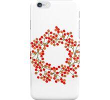 rowanberry wreath iPhone Case/Skin