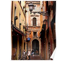 Bologna Alley Poster