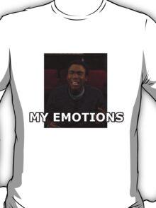 My Emotions - Troy Barnes T-Shirt
