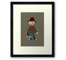 Freddy from your nightmares Framed Print