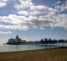 Eastbourne Pier Last Gasp of summer by Shoshonan