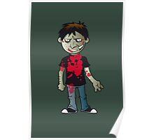 Zombie Boy Poster
