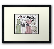 Her day to shine Framed Print