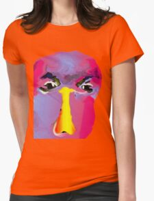 face  Womens Fitted T-Shirt