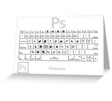 Photoshop Keyboard Shortcuts Greeting Card