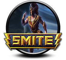 Smite Mercury Logo Photographic Print