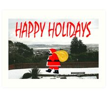 HAPPY HOLIDAYS 64 Art Print