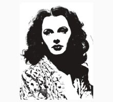 Hedy Lamarr Seems Bored by Museenglish