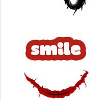 The Joker smile by THEMYT