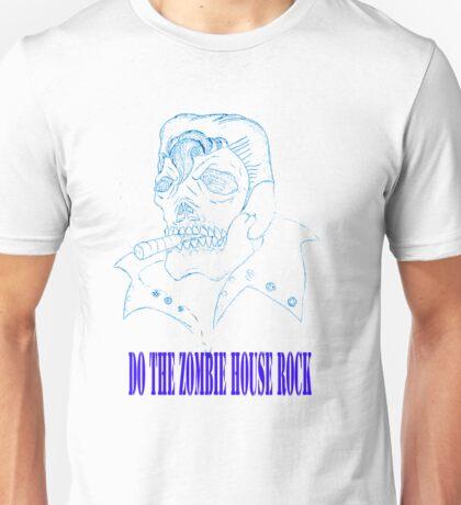 Zombie Elvis Unisex T-Shirt