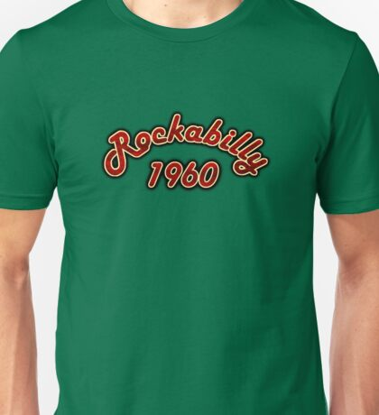 Vintage Rockabilly 1960 Unisex T-Shirt