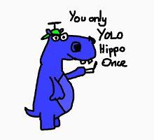 YOLO Hippo Unisex T-Shirt