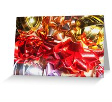 Christmas wrapping Greeting Card
