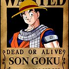 Goku's Wanted Poster by jpmdesign