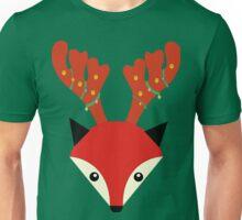 xmas foxy fox Unisex T-Shirt
