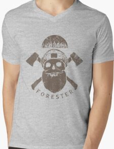Zombie Forest Mens V-Neck T-Shirt