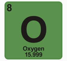 Element O Oxygen by SignShop